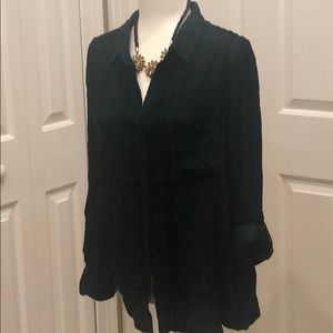 NWT BeCool Long sleeve button up blouse